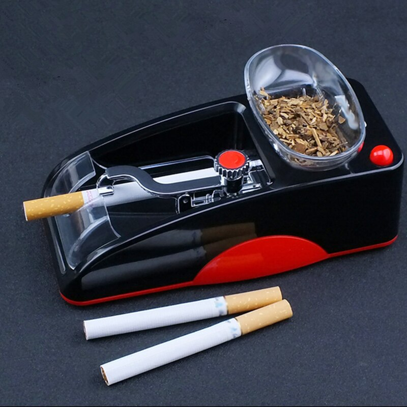 Machine For Rolling Cigarettes Easy To Use Tobacco Injector Maker Roller Automatic Cigarette Making Machine Drop