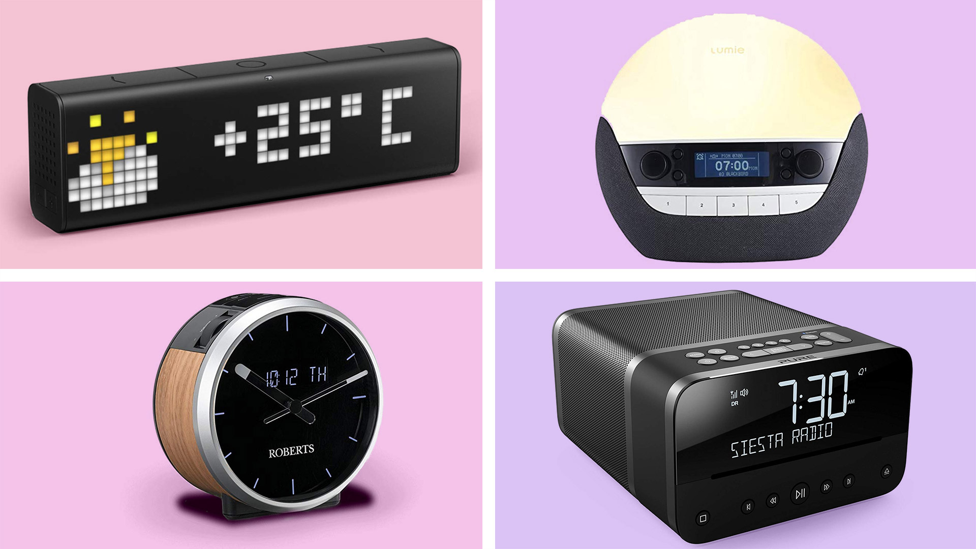 best alarm clock with usb mp3 player